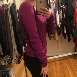 Banana Republic pinkish purple blouse-size s